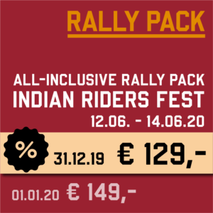 Rally Pack discount 129 EURO until 31.12.19