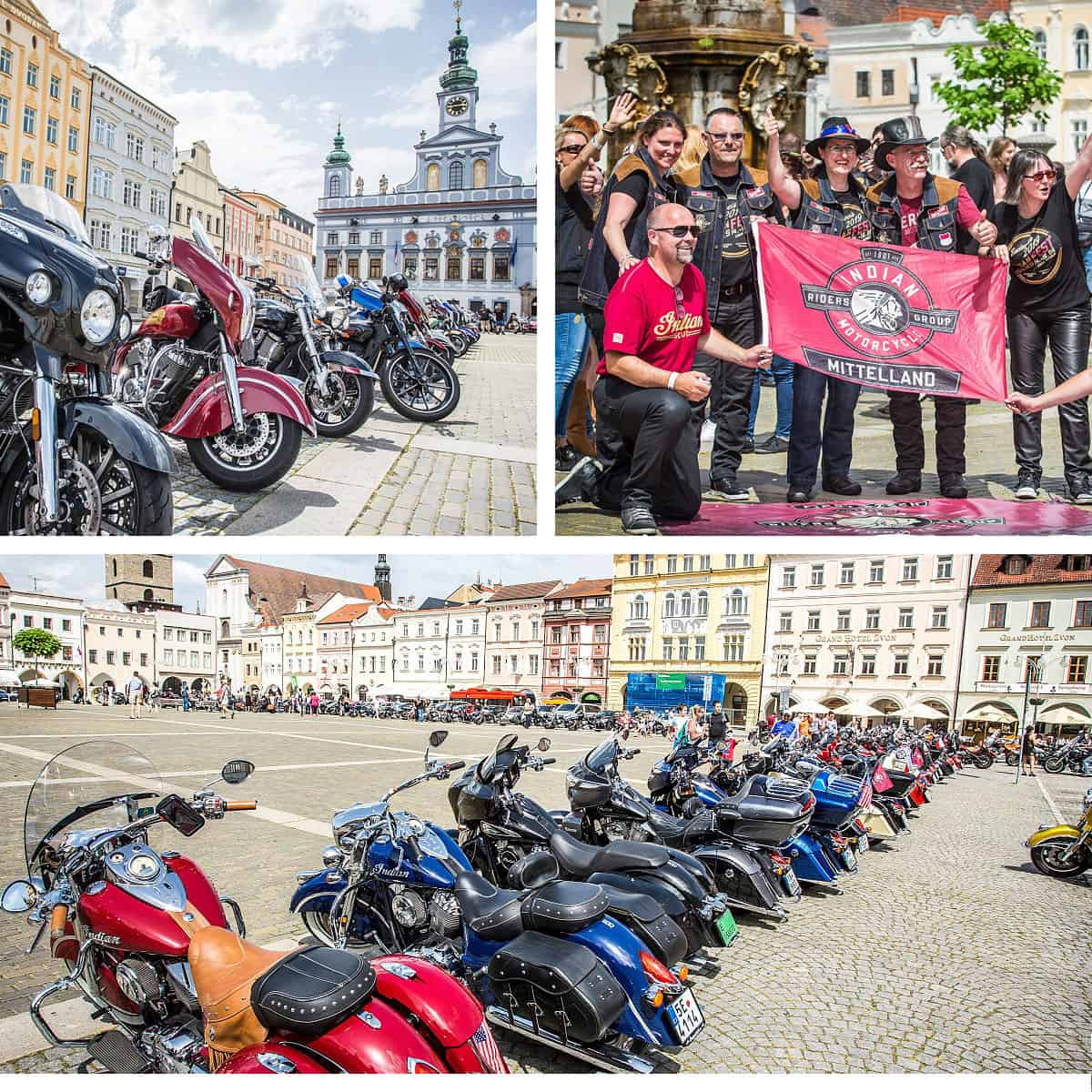 Old town square - Indian Riders Fest Budweis 12.06- 14.06.2020