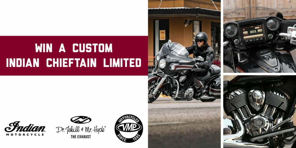 Win a custom Indian Chieftain Limited