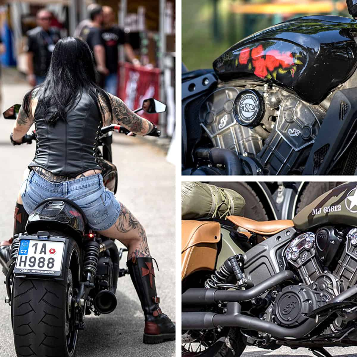 Indian Motorcycles Custom Show - Indian Riders Fest 2020 Budweis